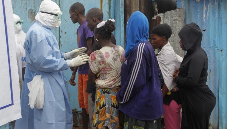 Вирус Эбола в Африке