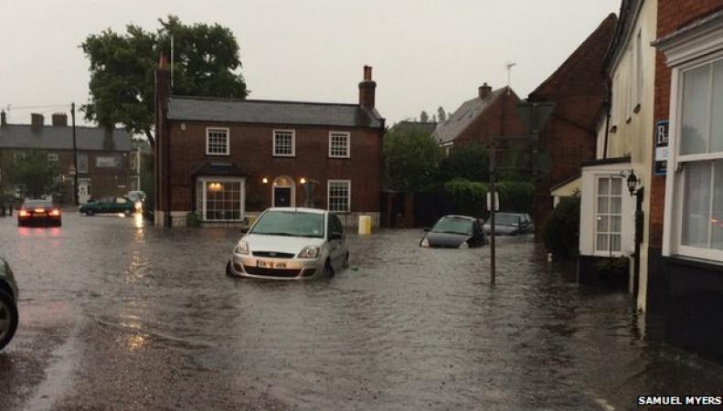 потоп в Эссексе