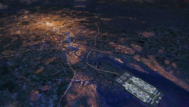 проект аэропорта в устье Темзы