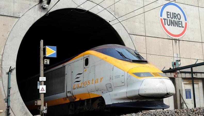 Поезд компании Eurostar