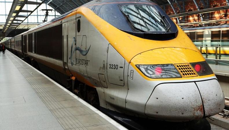 локомотив поезда Eurostar