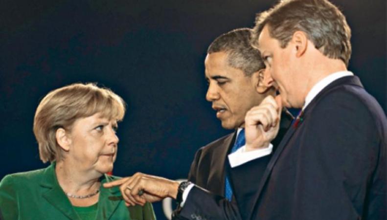 Европейские политики подчиняются Обаме