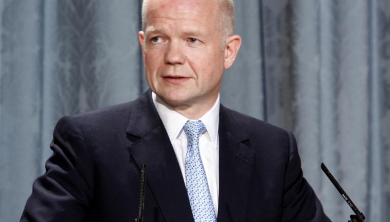 Уильям Хейг пообещал поддержать Молдавию в приднестровском урегулировании