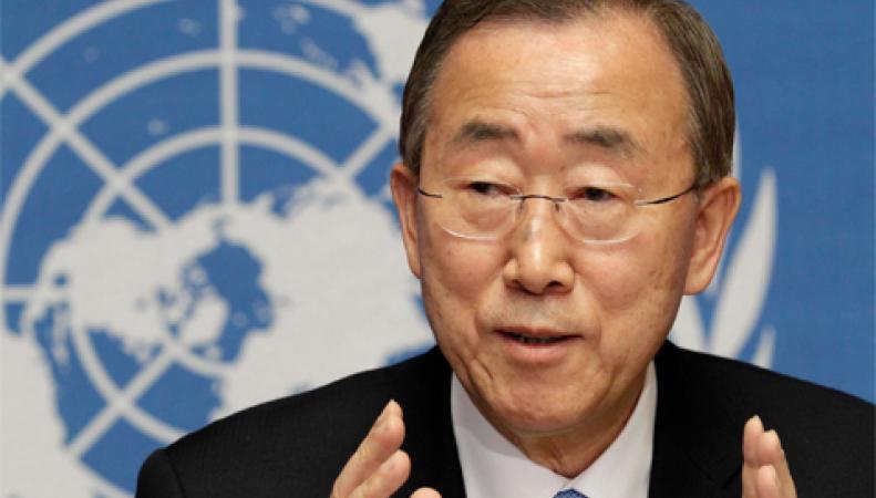 Пан Ги Мун: я обеспокоен обстановкой в Ливии