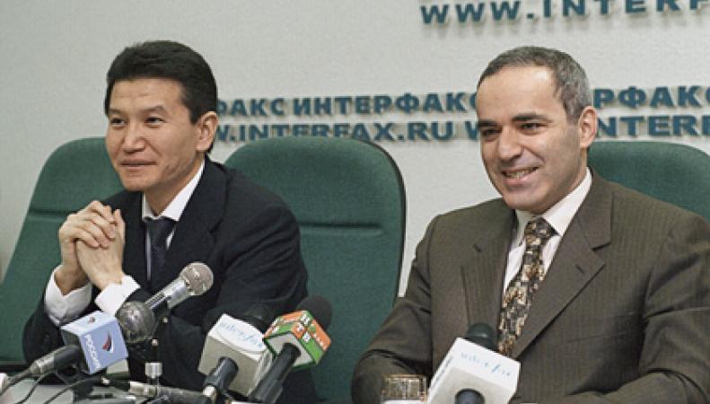 Кирсан Илюмжинов и Гарри Каспаров