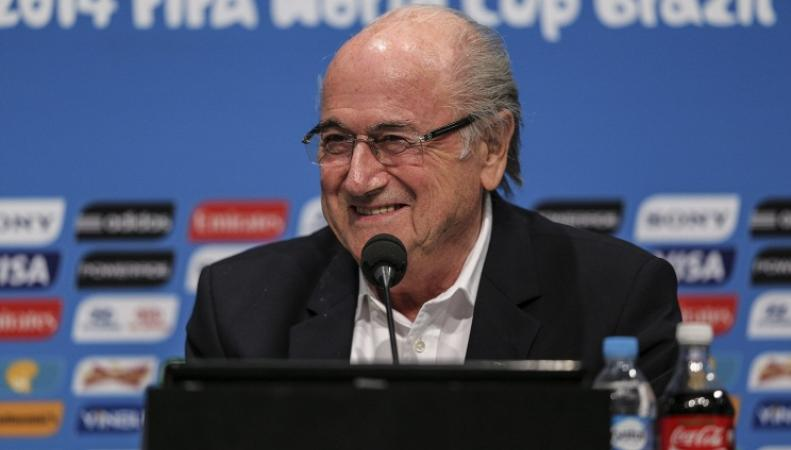 Йозеф Блаттер, президент FIFA