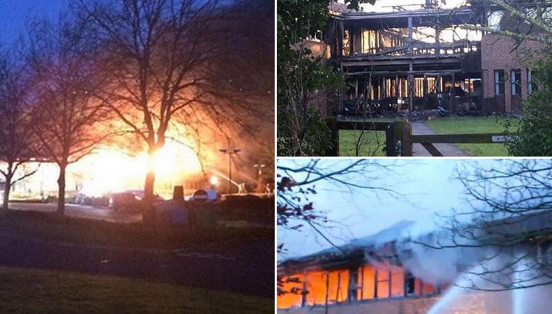пожары в Оксфордшире