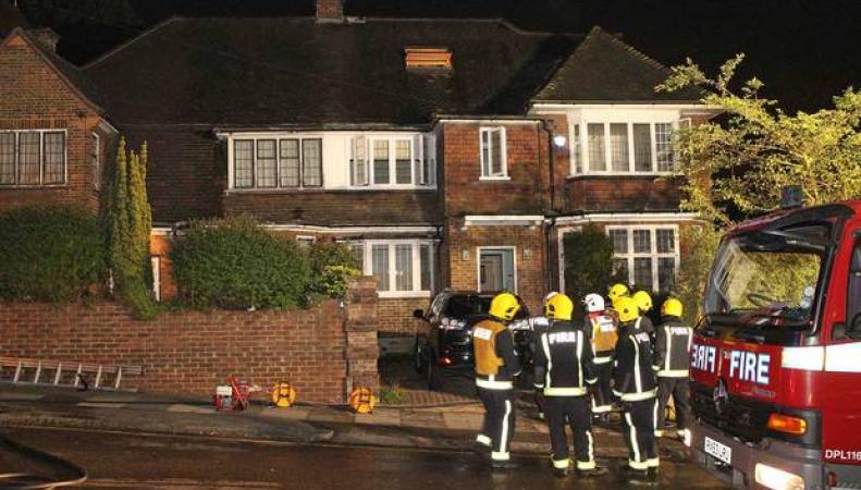 лондонские пожарные бригады