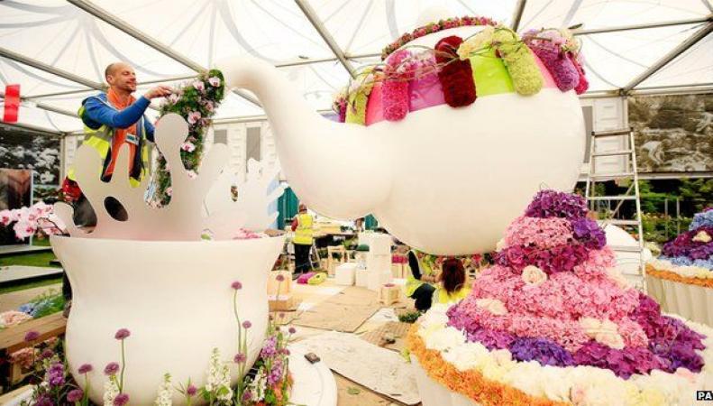 Chelsea Flower Show пройдет в Royal Hospital в Челси
