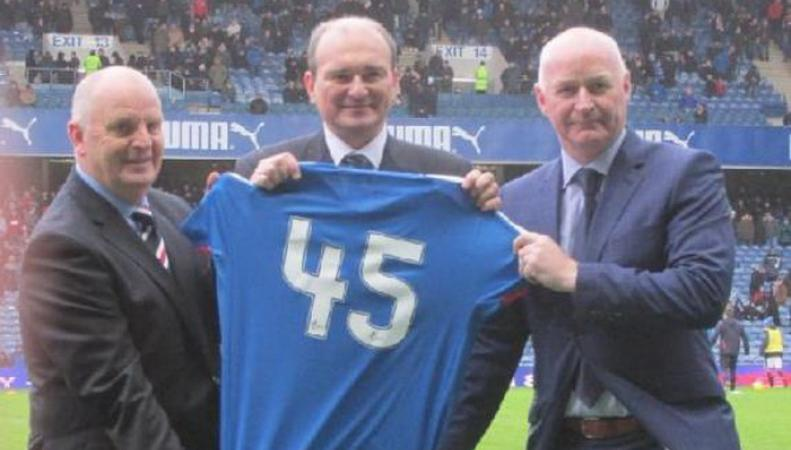 В Шотландии отметили юбилей футбольного матча