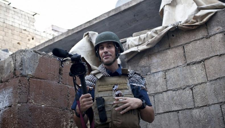 Американский журналист Джеймс Фоули