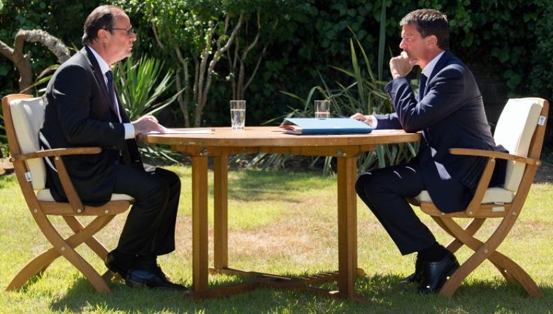 Президент Франции и глава правительства