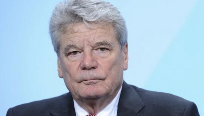 Президент ФРГ Йоахим Гаук