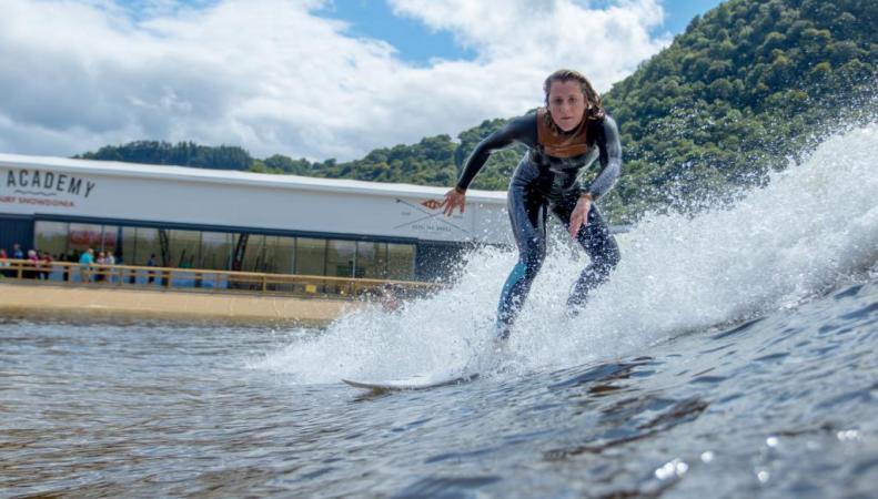 Серфинг в Уэльсе