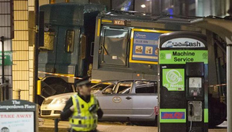 Происшествие на Джордж-сквер в Глазго