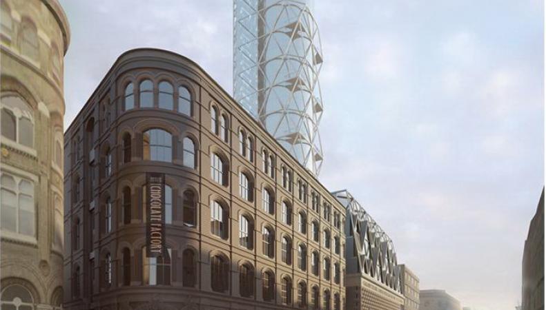 В Лондоне запретили строительство небоскреба в форме ракеты Гагарина
