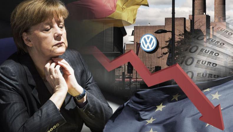 Европа на грани экономического краха.