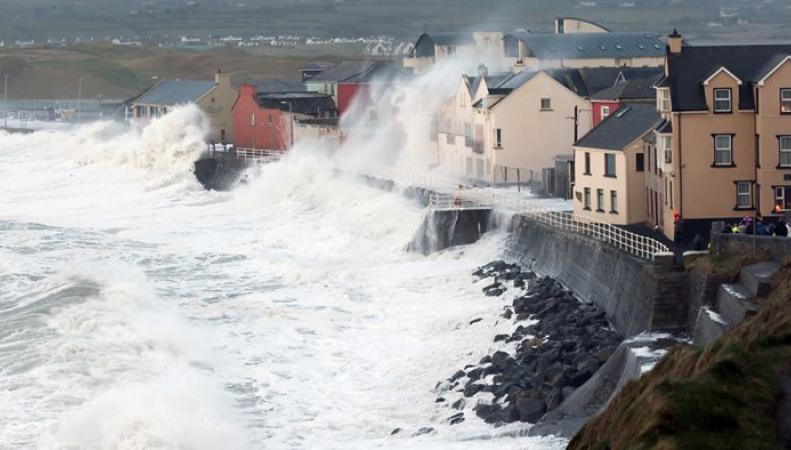 ураган в Ирландии