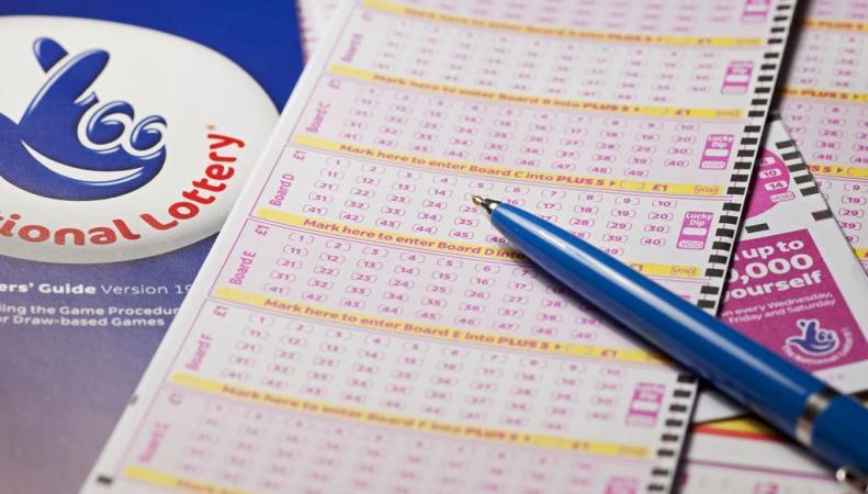 билет National Lottery