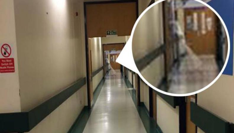 Привидение в больнице Англии