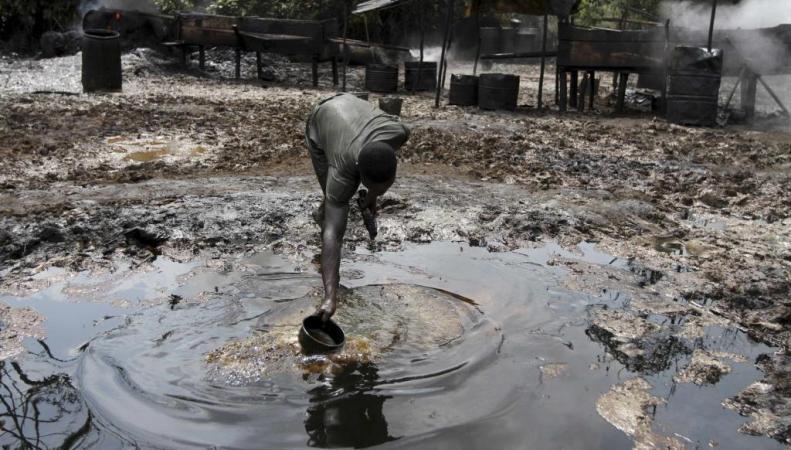 Производство нефти в Нигерии