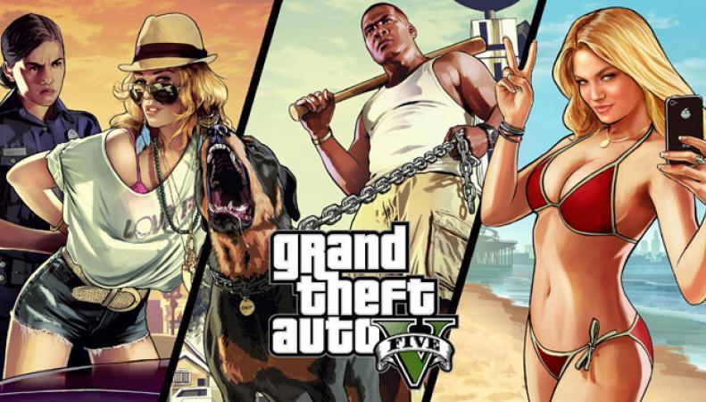 Grand Theft Auto V в новом релизе станет самой продаваемой игрой в истории Британии