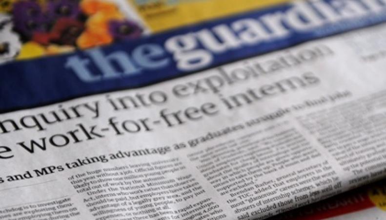 Британское издание The Guardian