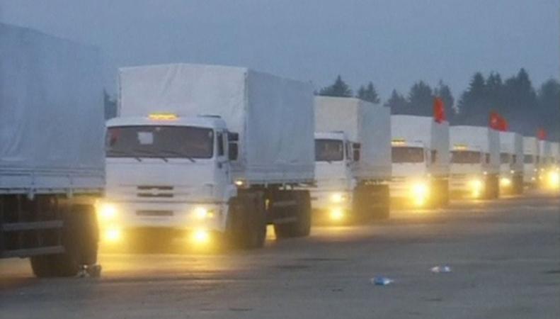 Гуманитарный конвой в Донбасс