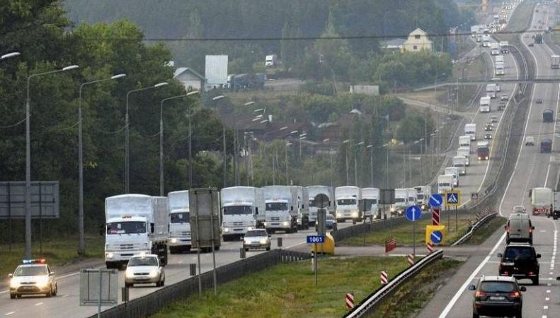 Автоколонна, доставившая гуманитарный груз в Донбасс, вернулась в Россию, http://is12.snstatic.fi