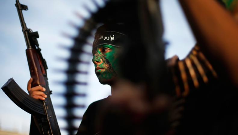 Участник движения ХАМАС