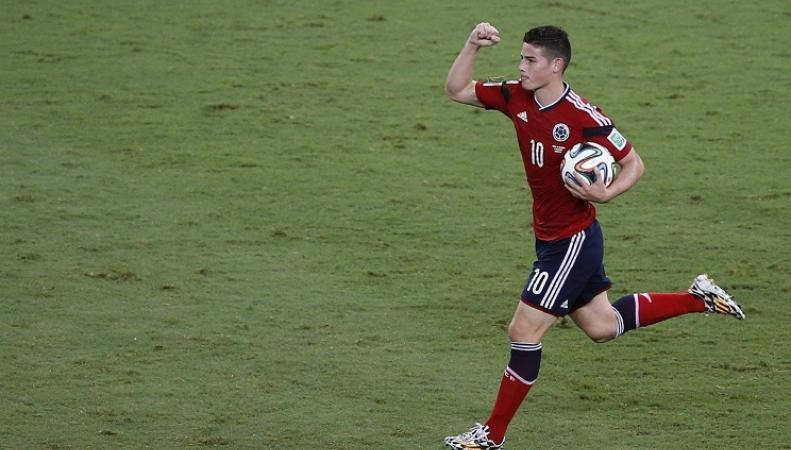 Футболист сборной Колумбии Хамес Родригез