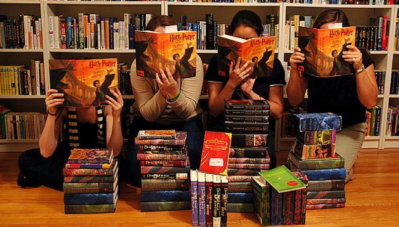 Книги о Гарри Поттере - самые читаемые