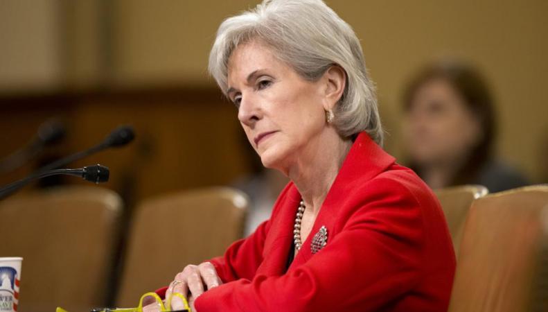 Кэтлин Сибелиус, министра здравоохранения США, попросили уйти в отставку