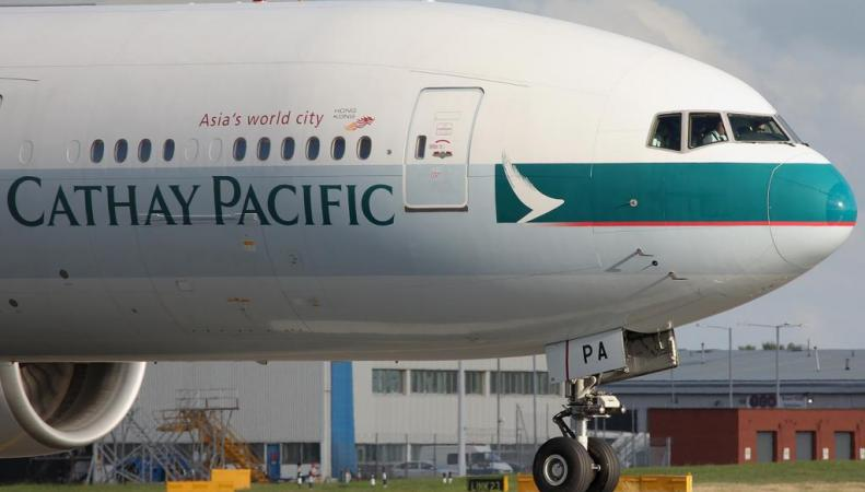 Boeing 777 Cathay Pacific