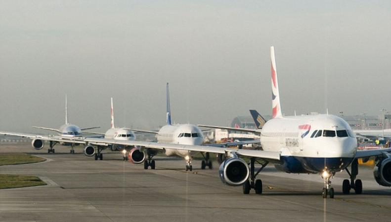 Самолеты Bitish Airways