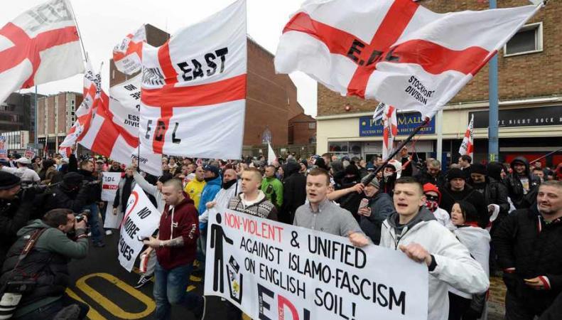 протест в Дадли