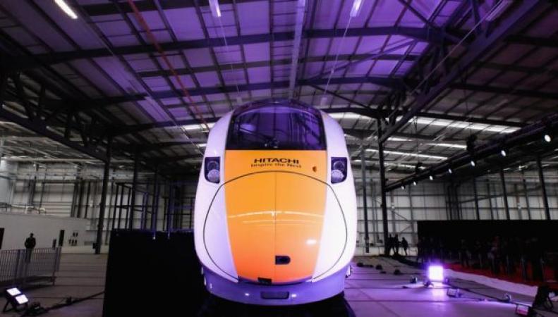 поезд Hitachi