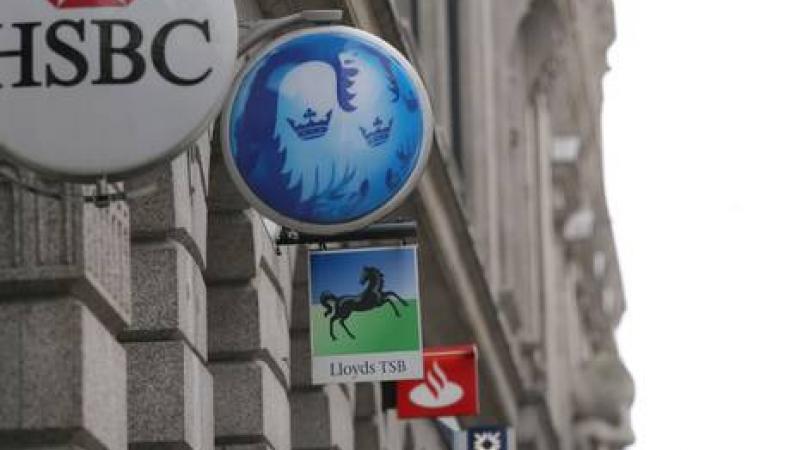 логотипы британских банков