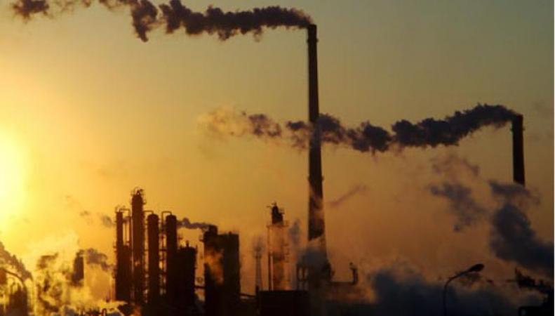 Химический завод в Китае