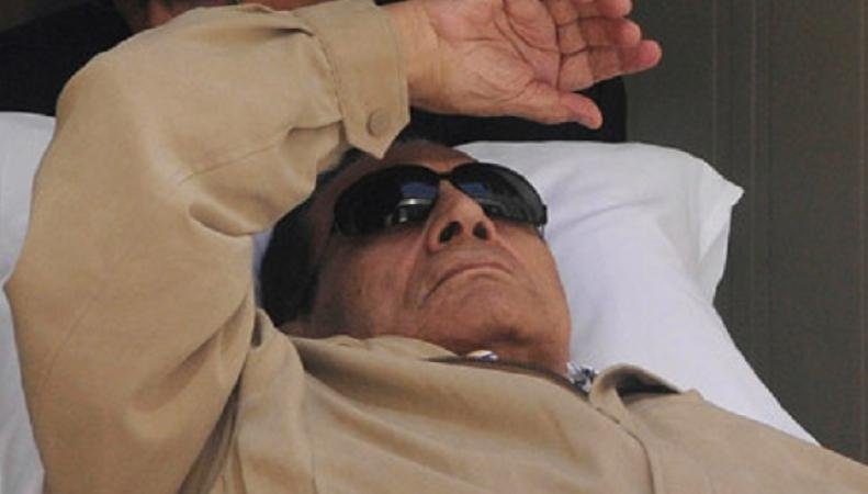 Заключенный экс-президент Хосни Мубарак