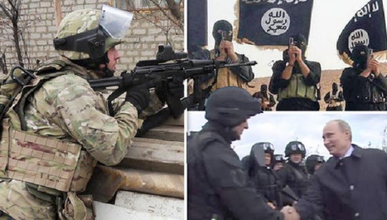 Путин послал спецназ в Сирию для окончательного уничтожения ИГИЛ