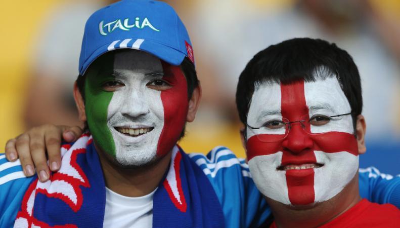 матч Англия - Италия