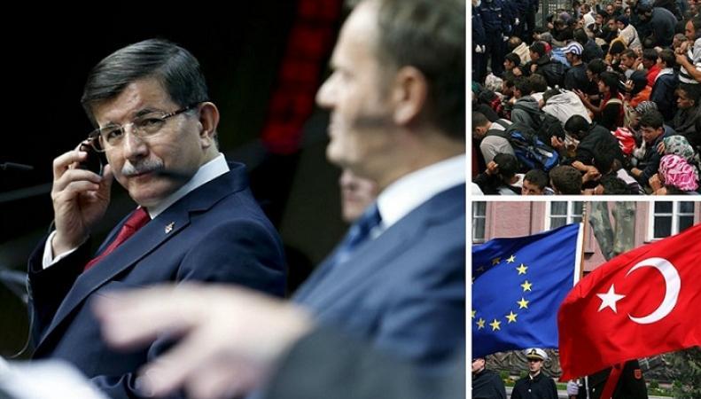 Турция шантажирует ЕС в вопросе кризиса мигрантов