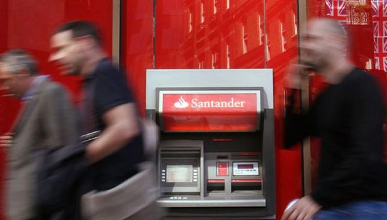 банкомат Santander