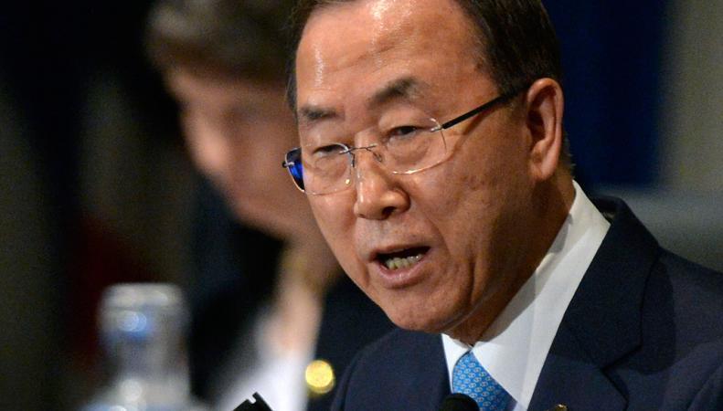 Пан Ги Мун обратился к ООН организовать экстренную встречу из-за израильско-палестинского конфликта
