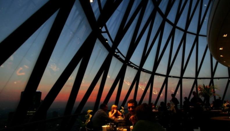 ресторан Searcys at The Gherkin