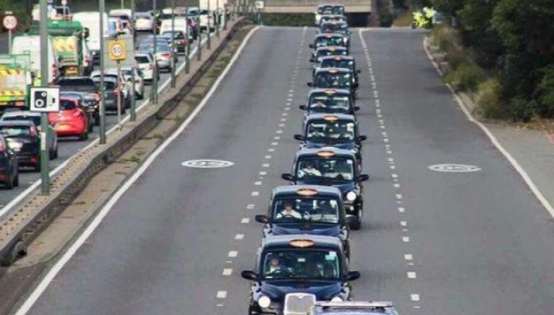 благотворительная акция лондонского такси