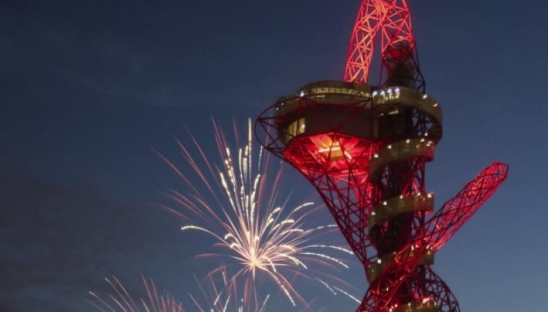 Башня Orbit в Олимпийском парке