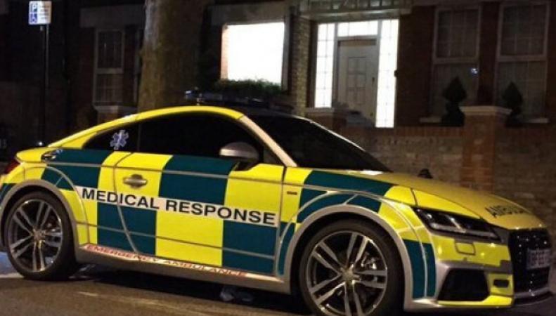 Audi TT в ливрее скорой помощи
