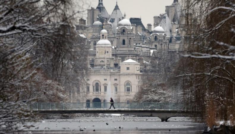 похолодание в Лондоне